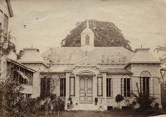 ULCA British Guiana New Amsterdam - Ebenezer Lutheran rear view 1920s