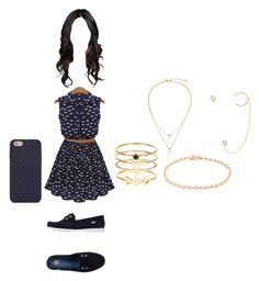 """Clothes almoço 10/02 3"" by stilys on Polyvore featuring Melissa, Tory Burch, Nephora, Katie Diamond, Kate Spade, Accessorize, women's clothing, women, female and woman"