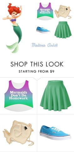 """""""Modern Ariel"""" by gyambrek on Polyvore featuring Nila Anthony, Vans and modern"""