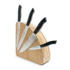Taco Magnético Vacío para max. 10 Cuchillos Madera de Roble Blanco Americano