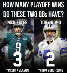 Philadelphia Eagles Funny, Philadelphia Sports, Football Memes, Sports Memes, Dallas Cowboys Jokes, Tony Romo Memes, Funny Sports Pictures, Eagles Fans, Fly Eagles Fly