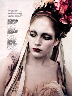 Iris Strubegger by Paolo Roversi for Vogue Russia, May 2010