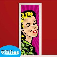 Resultado de imagen de puertas estilo pop art