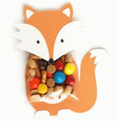 Silhouette Online Store: fox treat holder