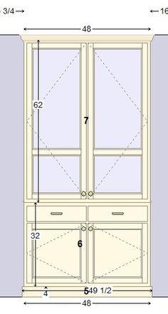 built-in drawings