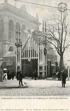 Potsdamer Platz  Ansichtskarte, 1902