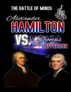 This engaging activity includes two readings, one about Alexander Hamilton and the other about Thomas Jefferson. Students will used what they learned through the reading to complete two engaging activities.
