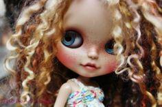 OOAK Custom Blythe Doll Face Up and Customized Blythe Toys Doll Girl | eBay