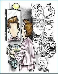 A Face A Day... - Posted in Funny, Troll comics and LOL Images - Entertain Club:
