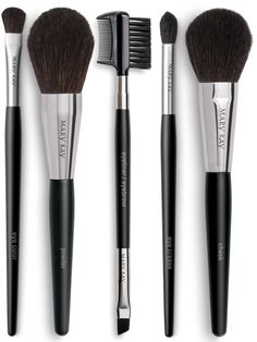 I just got my new MK brush collection complete with a bag that I am now using for my makeup bag. Its awesome. These brushes are great quality and applies the makeup effortlessly! Mary Kay® Brush Collection - Brushes - Catalog - Mary Kay