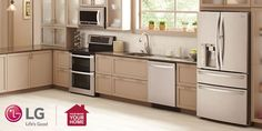 No matter your taste or style, we have an appliance that suits you. #kitchen #design http://www.lg.com/us/moving/get-inspired #MakeMovingEasy