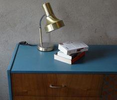 Metamorfoza komody Retro Basset z lat 60 - tych - Rub & Paint Desk Lamp, Table Lamp, Retro, Lighting, Painting, Vintage, Home Decor, Table Lamps, Decoration Home