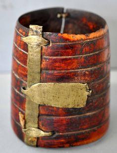 Cuff with major brass repairs Ethiopian. (collection Linda Pastorino)