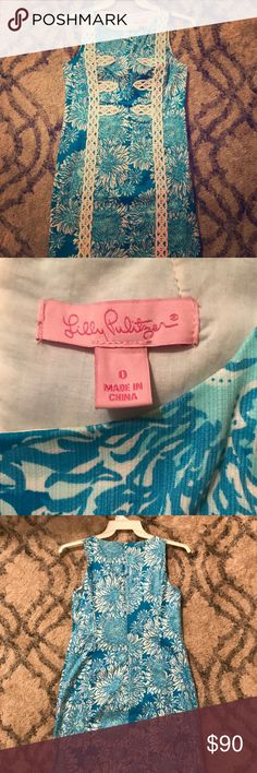 Like New Lilly Pulitzer Dress I loved this dress when I bought it, but I only ever wore it twice so it's still in excellent condition! The dress has also been dry cleaned. Lilly Pulitzer Dresses Midi