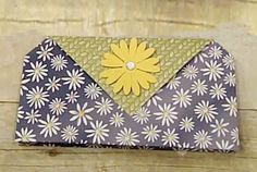 Card Clutch Tutorial - Splitcoaststampers