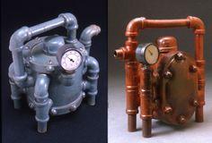 Steampunk teapot. #tea