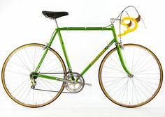 Steel Vintage Bikes - Colnago Super Classic Bicycle from 1973  -nice colour!