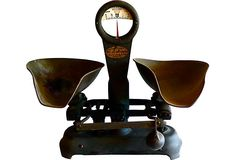 "Detecto-Gram Scale  USA - 1910-1950  18.5""L x 12""W x 16.5""H  ($700.00)  $329.00  OneKingsLane.com"