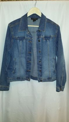 Harold's Women's Demin Jacket size medium #Harolds #JeanJacket