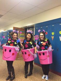 teacher halloween costume ideabucket fillers materials 1 gallon ice bucket