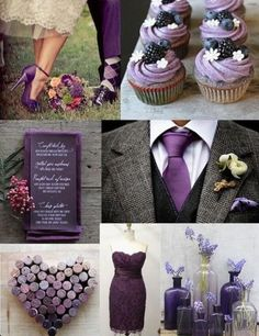 Wedding day ideas- purple