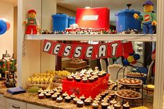 Lego themed birthday party=cute!