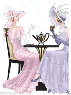 Sharing Tea and Secrets