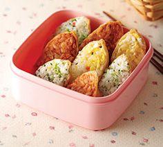 삼색 유부 초밥