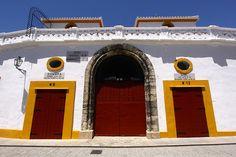 One of the entrances to the La Maestranza Plaza de Toros in Sevilla.
