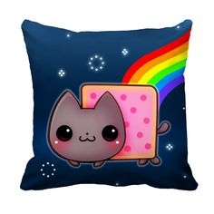 Nyan Cat Cushion case - ChibiBunny
