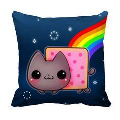 Nyan Cat Cushion case - ChibiBunny