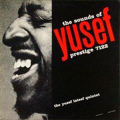 "The Sounds of Yusef Lateef   Label: Prestige 7122   12"" LP 1957Yusef Lateef, Prestige 7122"