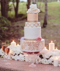 Torte nuziali rosa (Foto) | Donna Nanopress