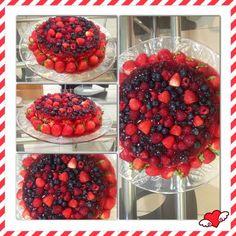 Cheesecake de frutas vermelhas by www.mimosedeliciasdacris.blogspot.com www.facebook.com/mimosdacris