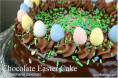 Chocolate Easter Cake Tested Recipe @ https://www.facebook.com/photo.php?fbid=549810981729857=a.369134849797472.88962.196783397032619=1