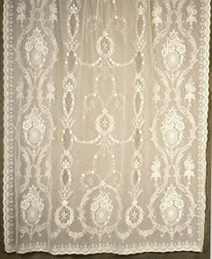 London Lace of Boston, Mass. The Finest Scottish Lace. Beatrice in Antique White or Pale Ivory.