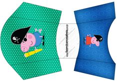 Envelope Fritas George Pig Pirata:
