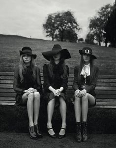 Cara Delevingne, Codie Young and Charlie Bredal photographed by Richard Bush for i-D, Pre-Spring 2013