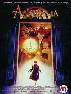 Anastasia, sans doute mon dessin animé préféré