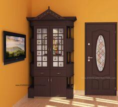 Trendy Ideas For Glass Door Design Mandir Pooja Room Door Design, Main Door Design, Wooden Door Design, Front Door Design, Interior Door Colors, Patio Door Coverings, Green Front Doors, Puja Room, Glass Cabinet Doors