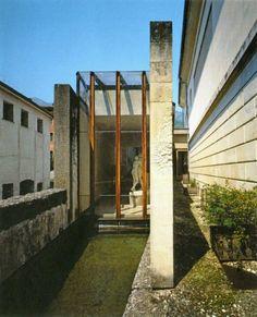 Gipsoteca Canoviana. Possagno, Treviso. 1955/57. Carlo Scarpa