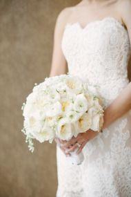 Garden Inspired Ballroom Wedding - Style Me Pretty