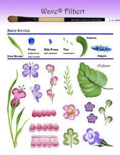 filbert brush strokes - Google Search