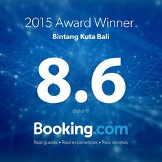 Feeling proud of our average review score of 8.6 on @bookingcom #guestsloveus