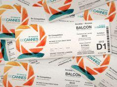 Festival De Cannes by Shelley Miller, via Behance