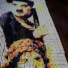 Mosaik #tessellation #rubikscube #image #picture #chaplin #icon #mosaic Mosaic, Darth Vader, Pictures, Fictional Characters, Image, Lucerne, Photos, Photo Illustration, Fantasy Characters