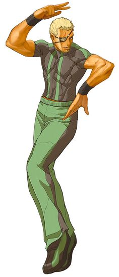 Ramon - The King of Fighters 2002