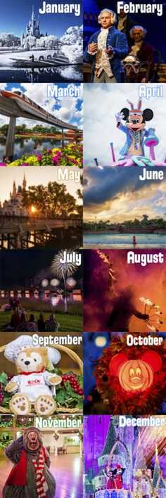 The secret is out: October is no longer the best month to visit. Check out what the best months are...