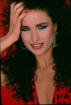 Andie MacDowell from 1980