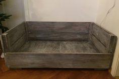 hundebett a la linda hund pinterest hundebett selbst bauen und selbstgemachte hundebetten. Black Bedroom Furniture Sets. Home Design Ideas